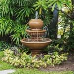 Landscape Around Water Fountain