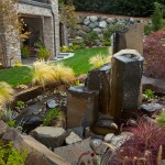 Landscape Design Water Fountain