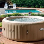 Outdoor Inflatable Jacuzzi Hot Tub