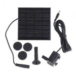 Patuoxun Solar Panel Power Submersible Fountain Water Pump for Garden Pond