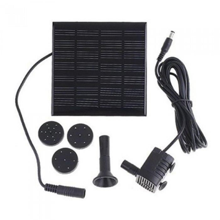 Patuoxun Solar Panel Power Submersible Fountain Water Pump