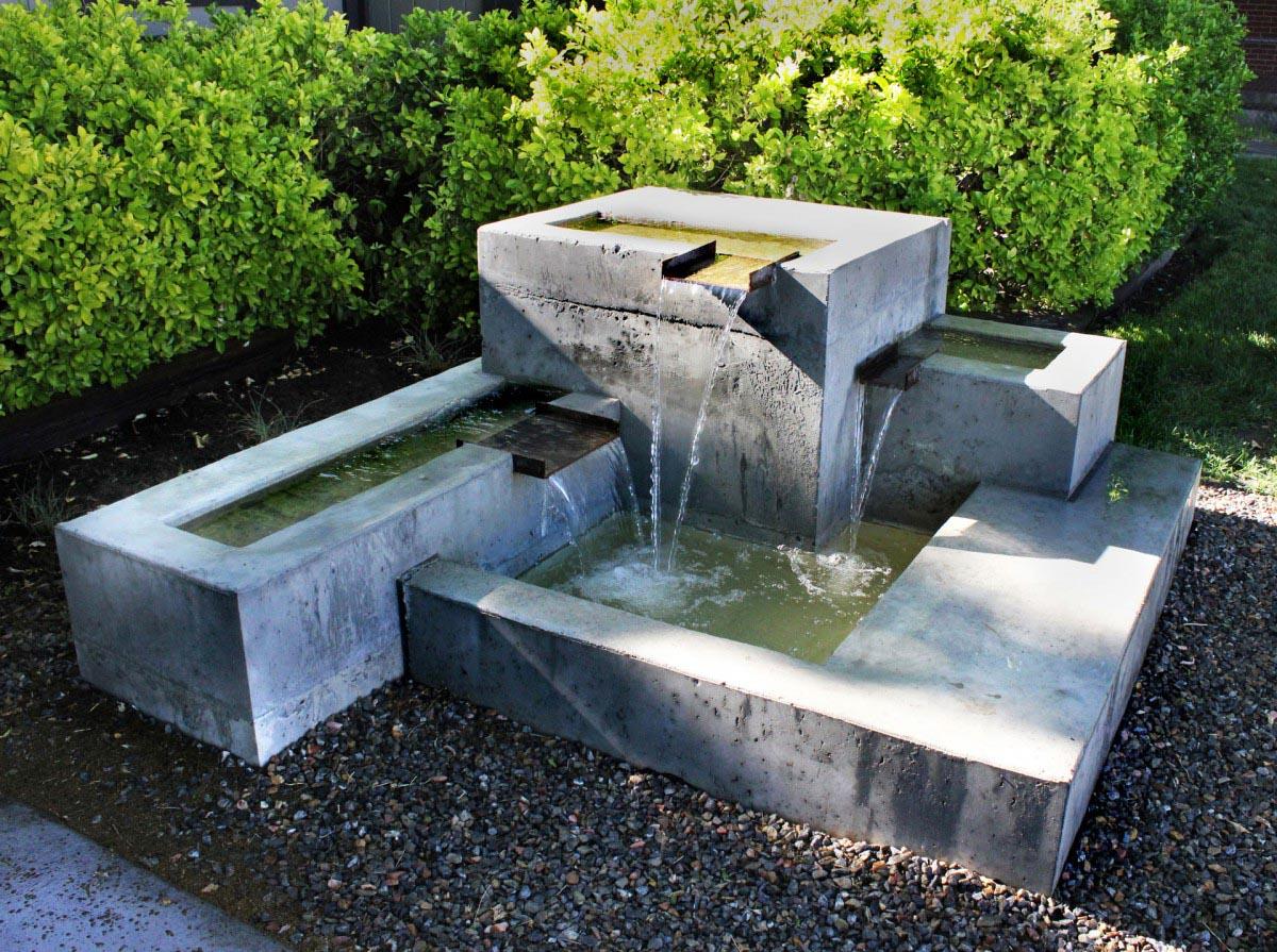 Photos of Backyard Water Fountains