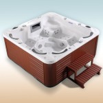Serina Luxus Outdoor 6 Personen Whirlpool Spa Jacuzzi Hot Tub