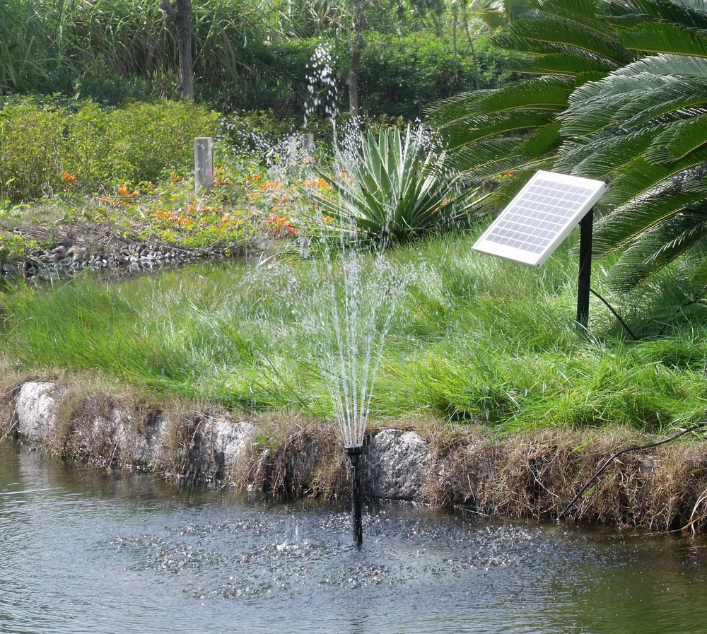 Solar Garden Pond Fountains