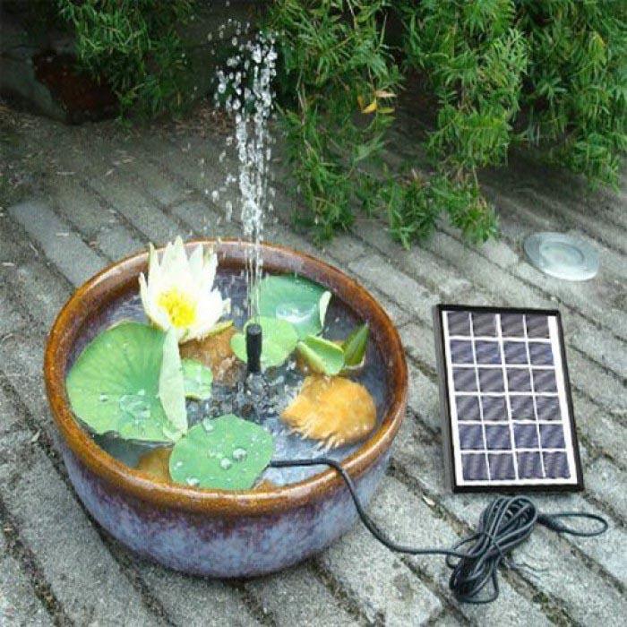 solar powered garden pond fountains backyard design ideas
