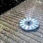 Solar Powered Garden Water Fountain Pool Pond Pump