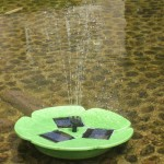 Solar Pump Garden Fountain Pond Water Feature