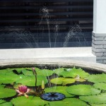 Solar Water Pump Garden Fountain Pond Feature