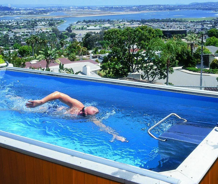 Charmant Used Portable Lap Pool