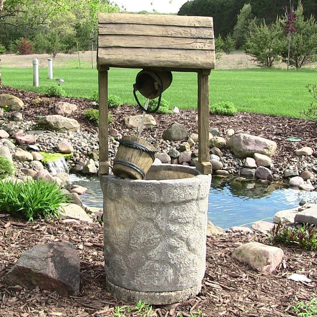 Water fountains for backyards backyard design ideas for Backyard water fountain ideas