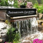 Water Fountains Landscaping Ideas