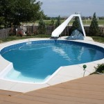 Water Slide Backyard Pool