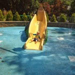 Water Slide Home Pool