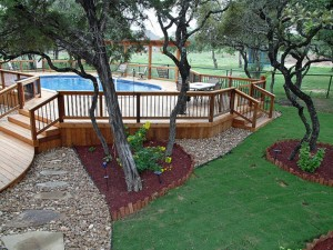 Above Ground Swimming Pool Deck Kit