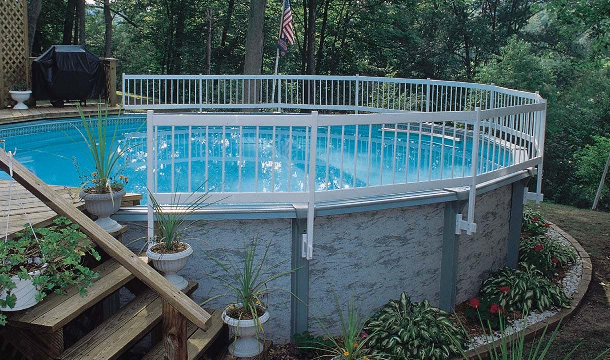Above Ground Swimming Pools Decks