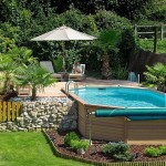 Above Ground Swimming Pools with Deck
