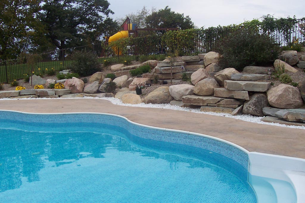 Coping for swimming pools backyard design ideas for In ground pool coping ideas