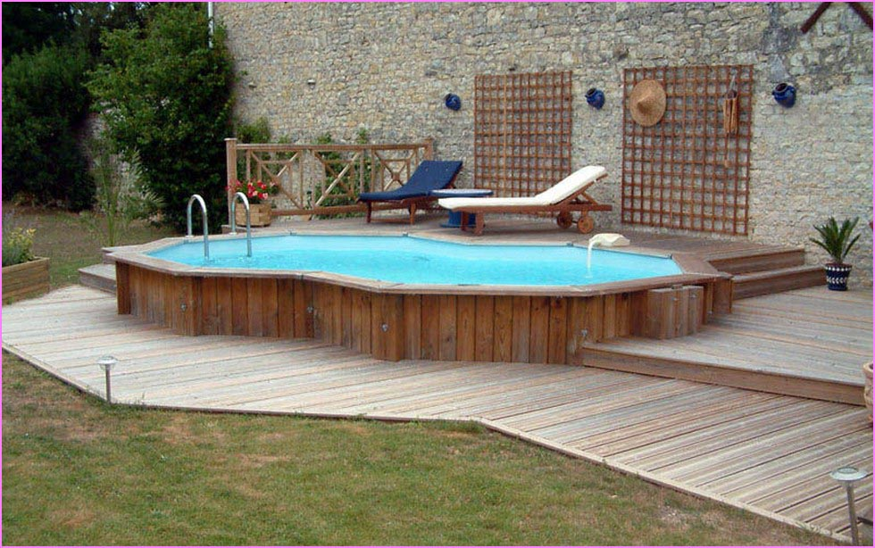 Decks Above Ground Swimming Pools