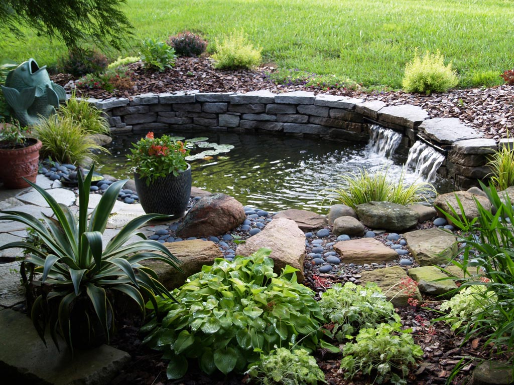DIY Small Pond Fountain