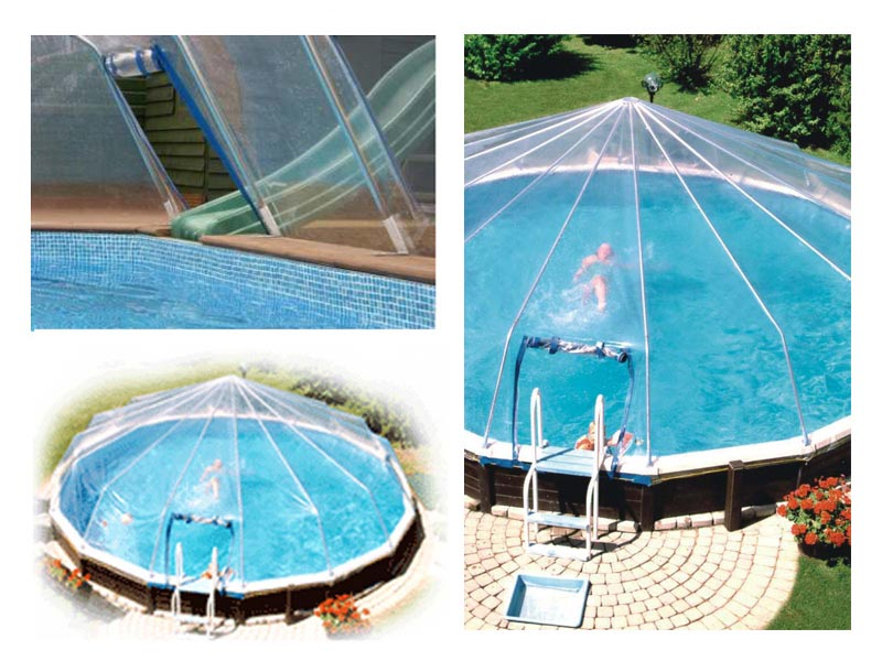 Diy swimming pool heating backyard design ideas for Diy small pool
