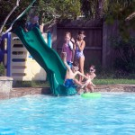 DIY Swimming Pool Slide