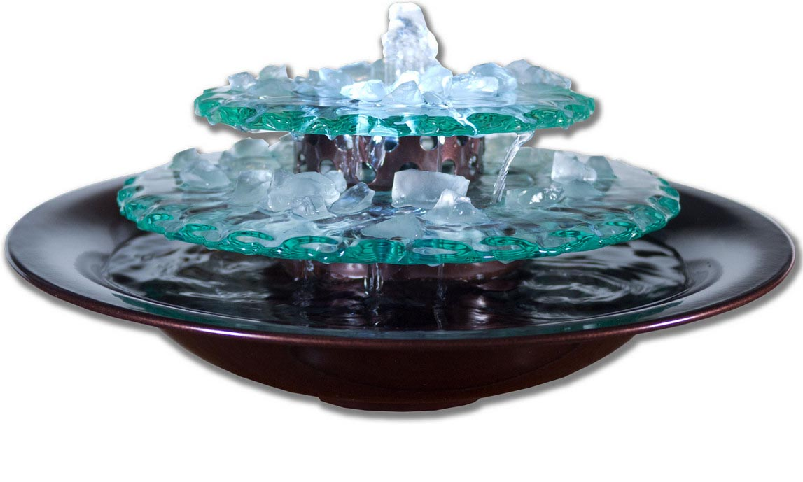 diy tabletop water fountain backyard design ideas