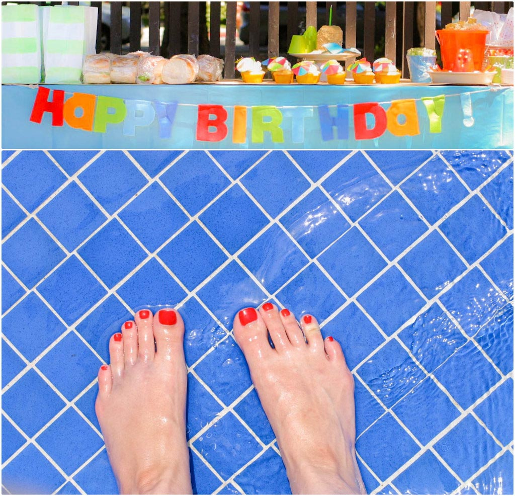 First Birthday Pool Party