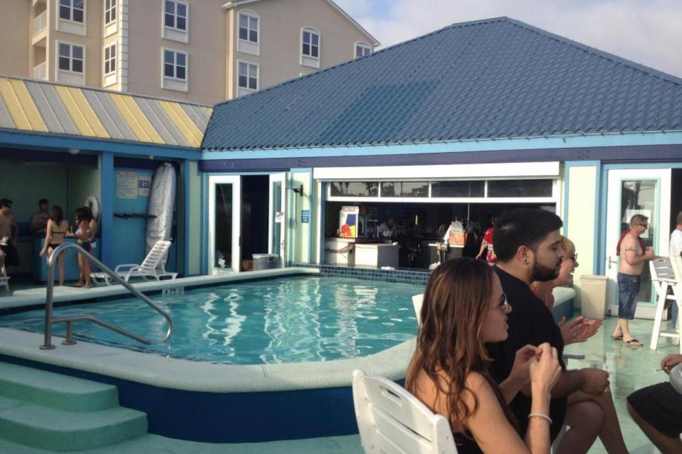 Float Pool and Patio Bar