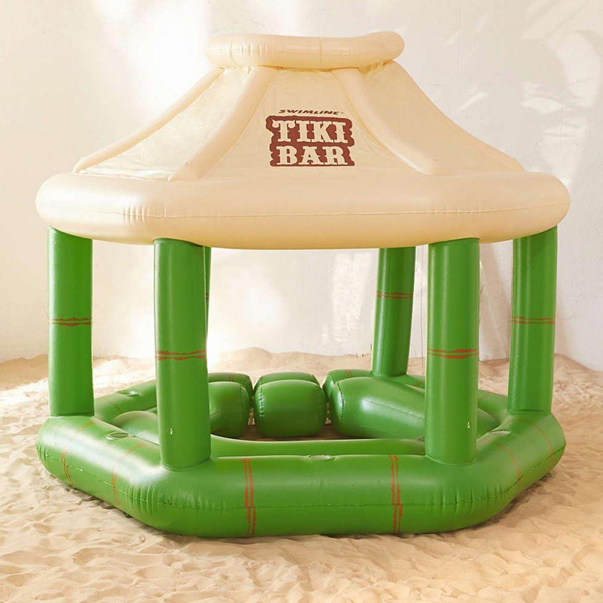 Floating Tiki Bar for Pool