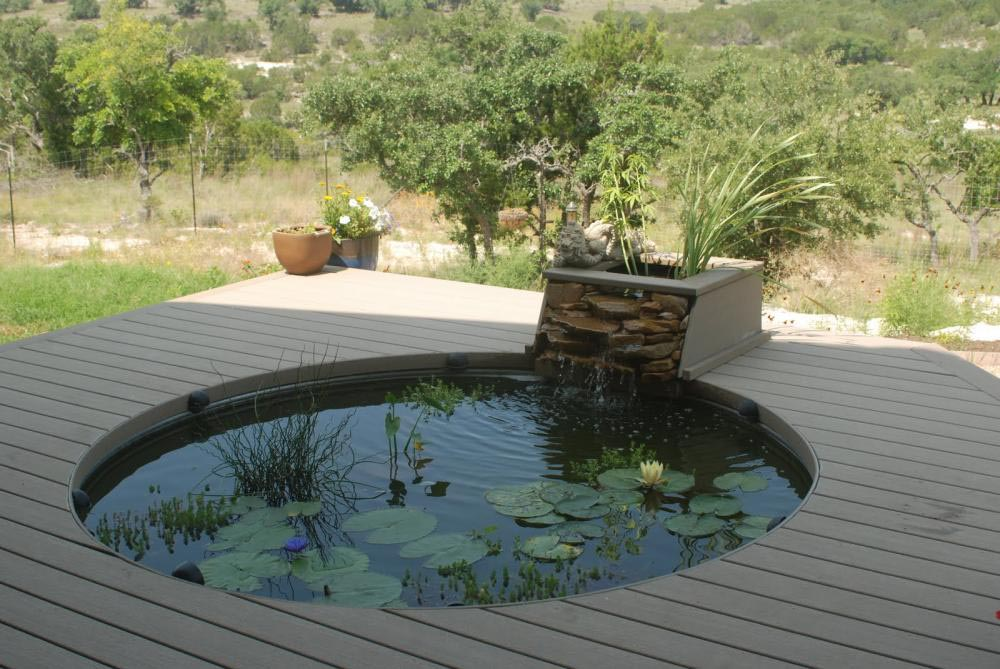 Garden fish pond kits backyard design ideas for Fish suitable for small pond