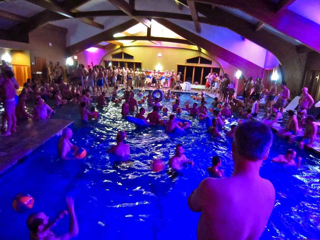 Indoor Swimming Pool Birthday Party