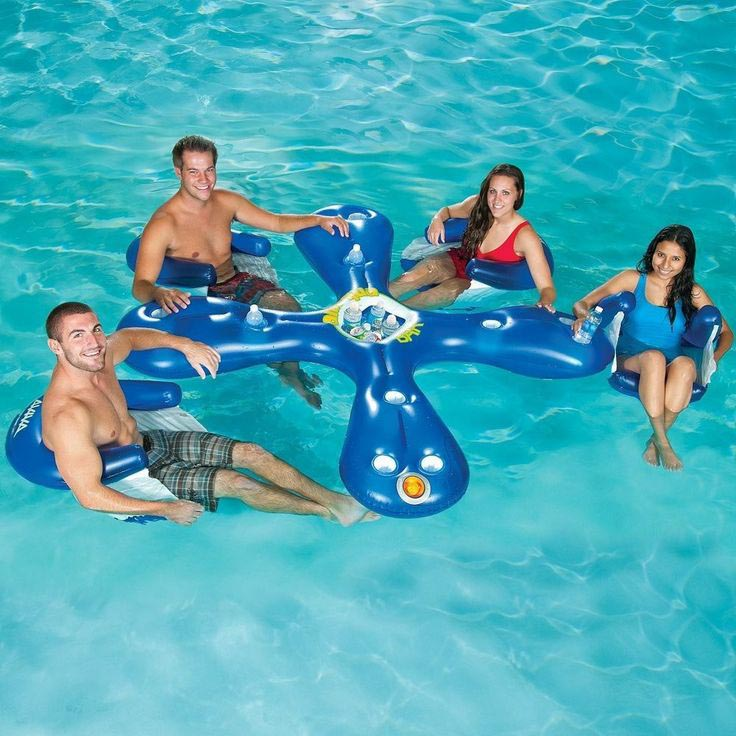 Inflatable Pool Bar Float