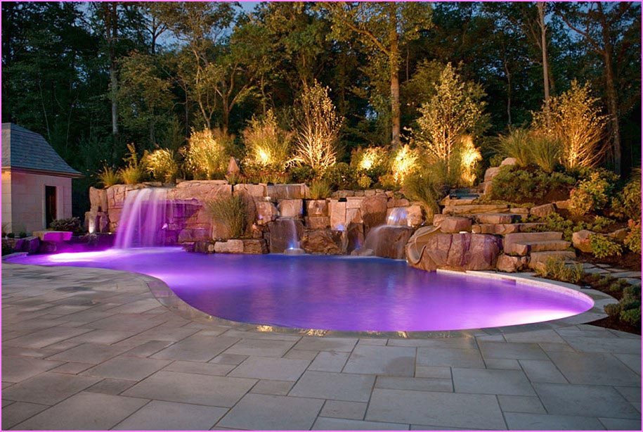Pools for backyards excellent landscaping and outdoor for In ground pool backyard ideas