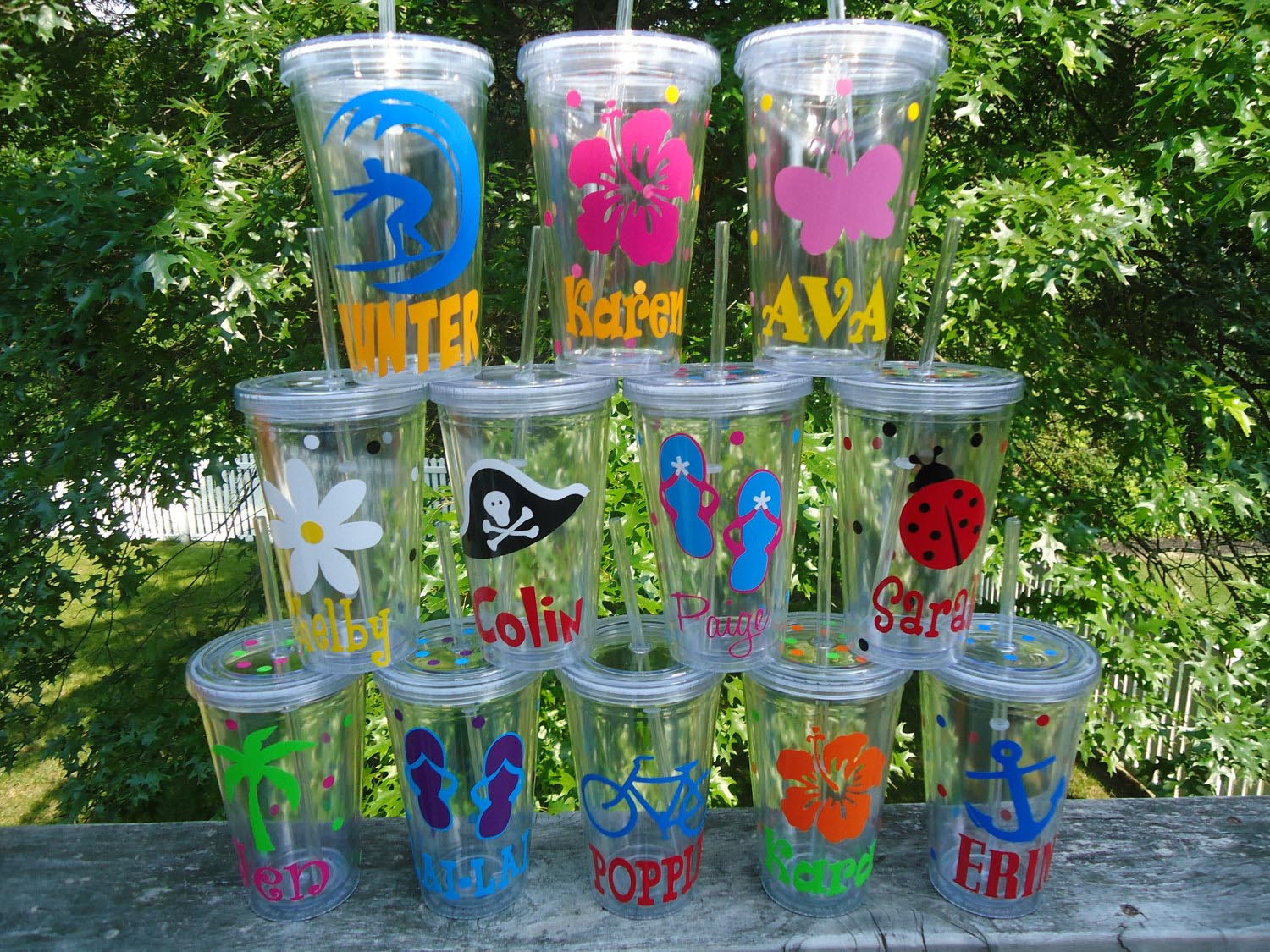 Kid pool party favors backyard design ideas for Garden pool party