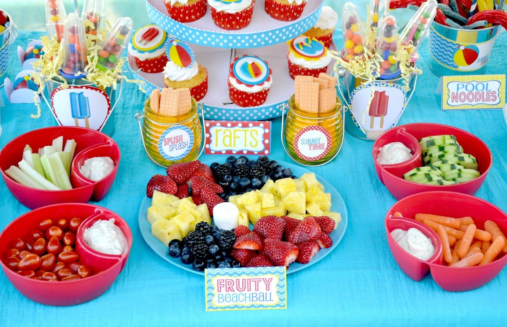 Pool Party Food Ideas For Teenagers best 20 luau party decorations ideas on pinterest luau decorations hawaiian party decorations and tropical party decorations Kid Pool Party Ideas