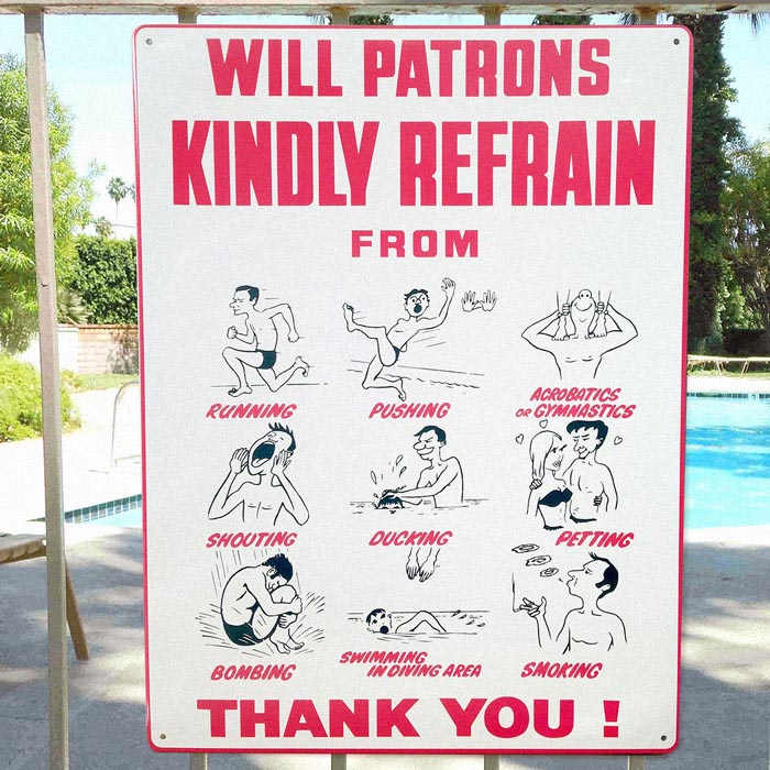 No Petting Swimming Pool Sign Backyard Design Ideas