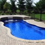Paver Coping for a Swimming Pool