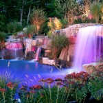Pictures of Pools with Waterfalls