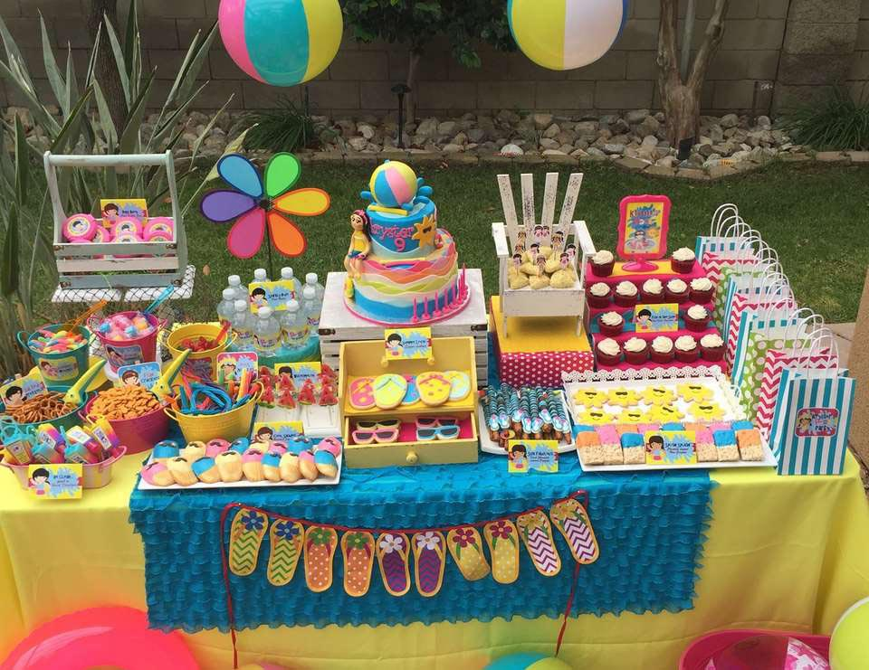 Pool Birthday Party Ideas