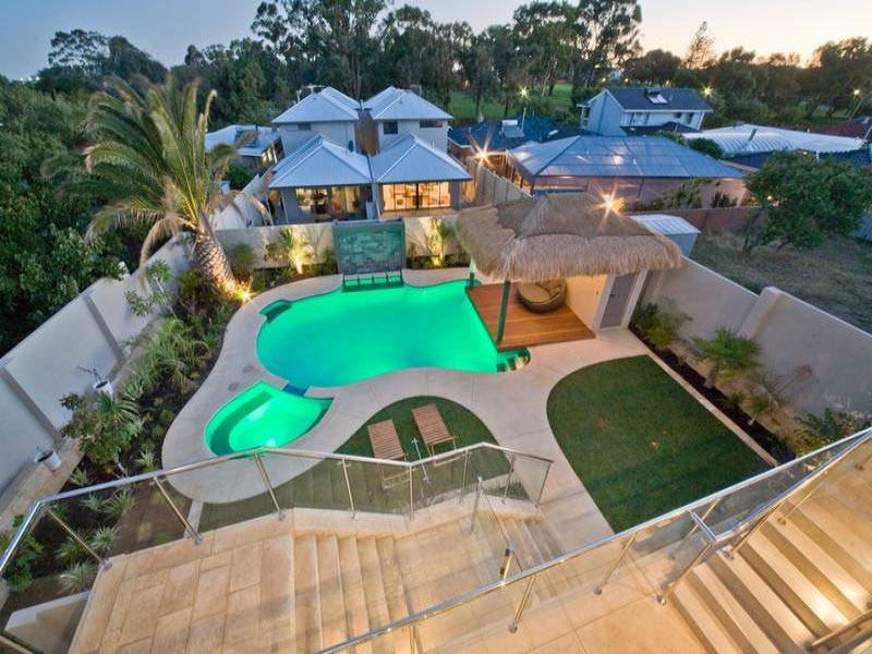 Pool designs with waterfalls backyard design ideas for Pool design 2016