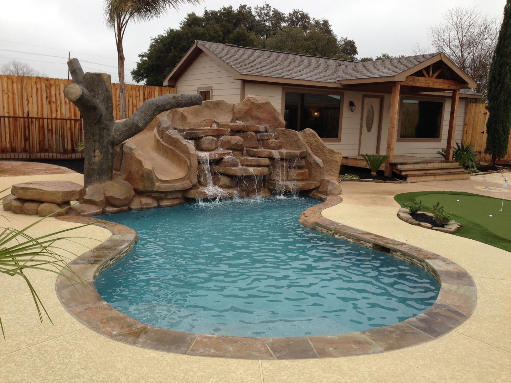 Pool in Small Backyard