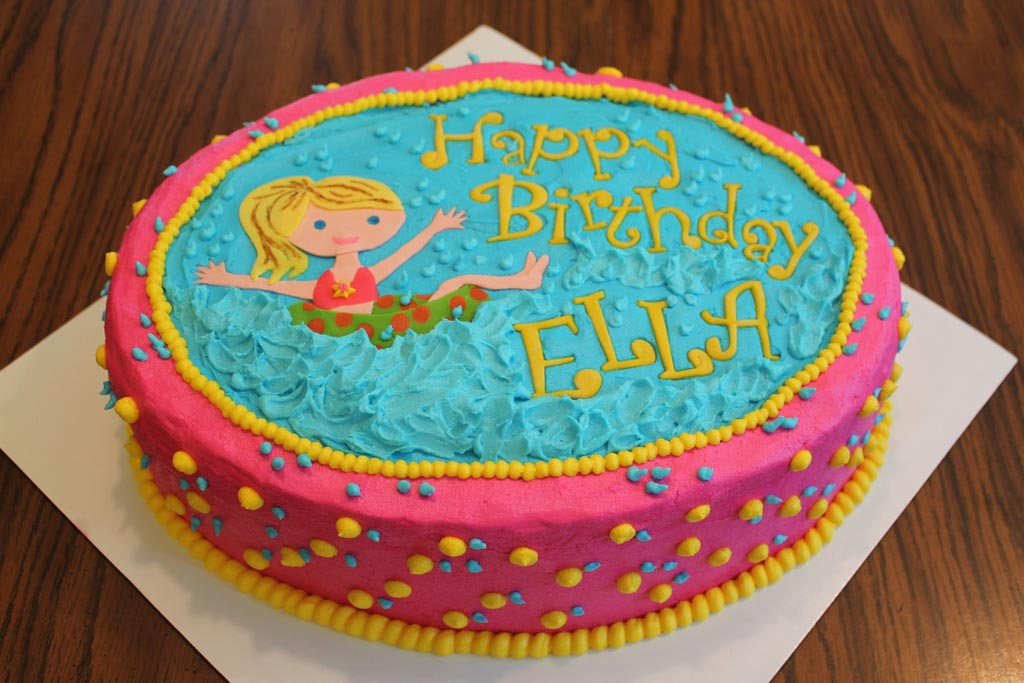 Pool Party Birthday Cake Ideas Backyard Design Ideas