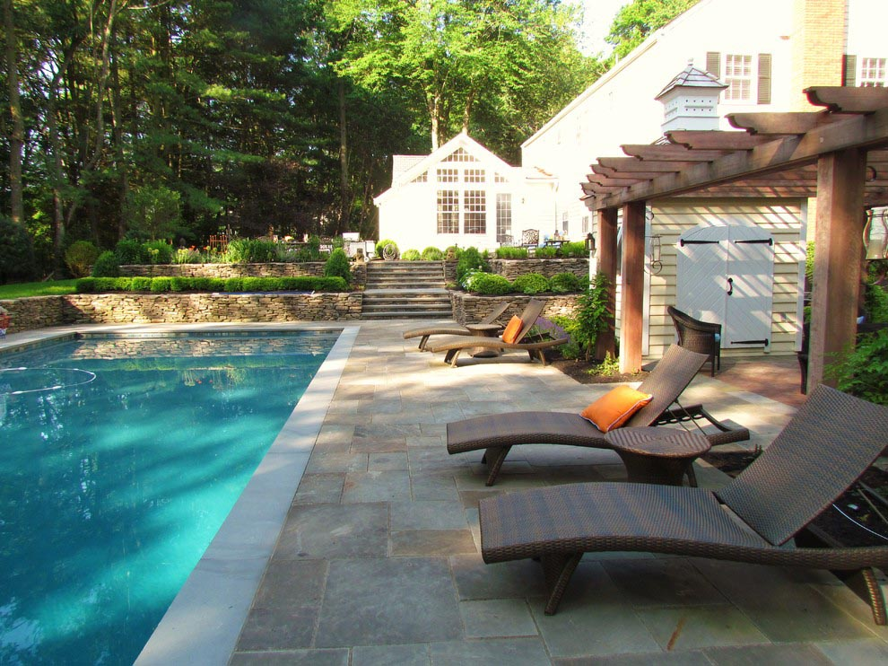 Pool patio furniture clearance backyard design ideas - Pool patio design ...
