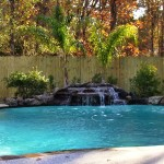 Rock Waterfall for Pool