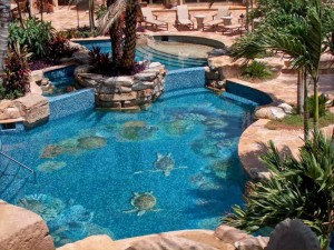 Rock Waterfalls for Pools