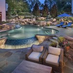 Rock Waterfalls for Swimming Pools