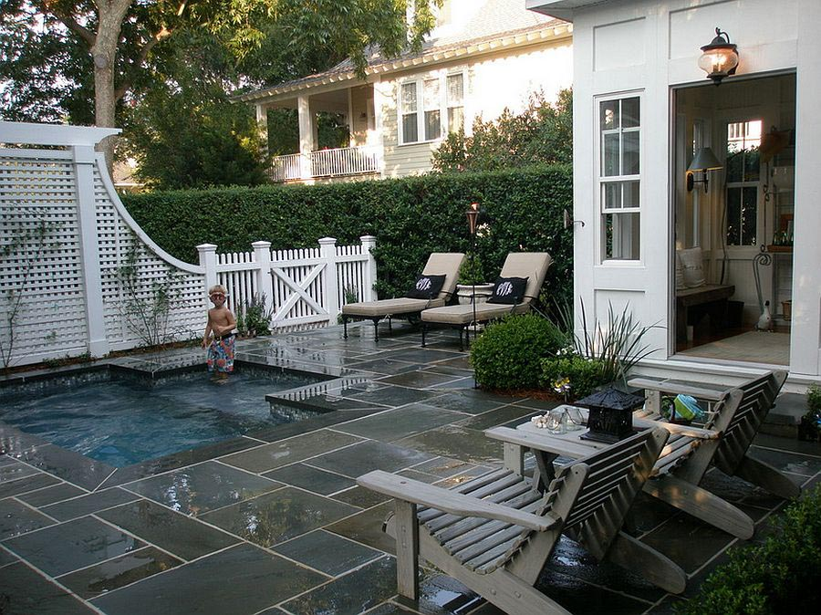Small Backyard with Pool