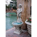 Small Pond Fountain Statues