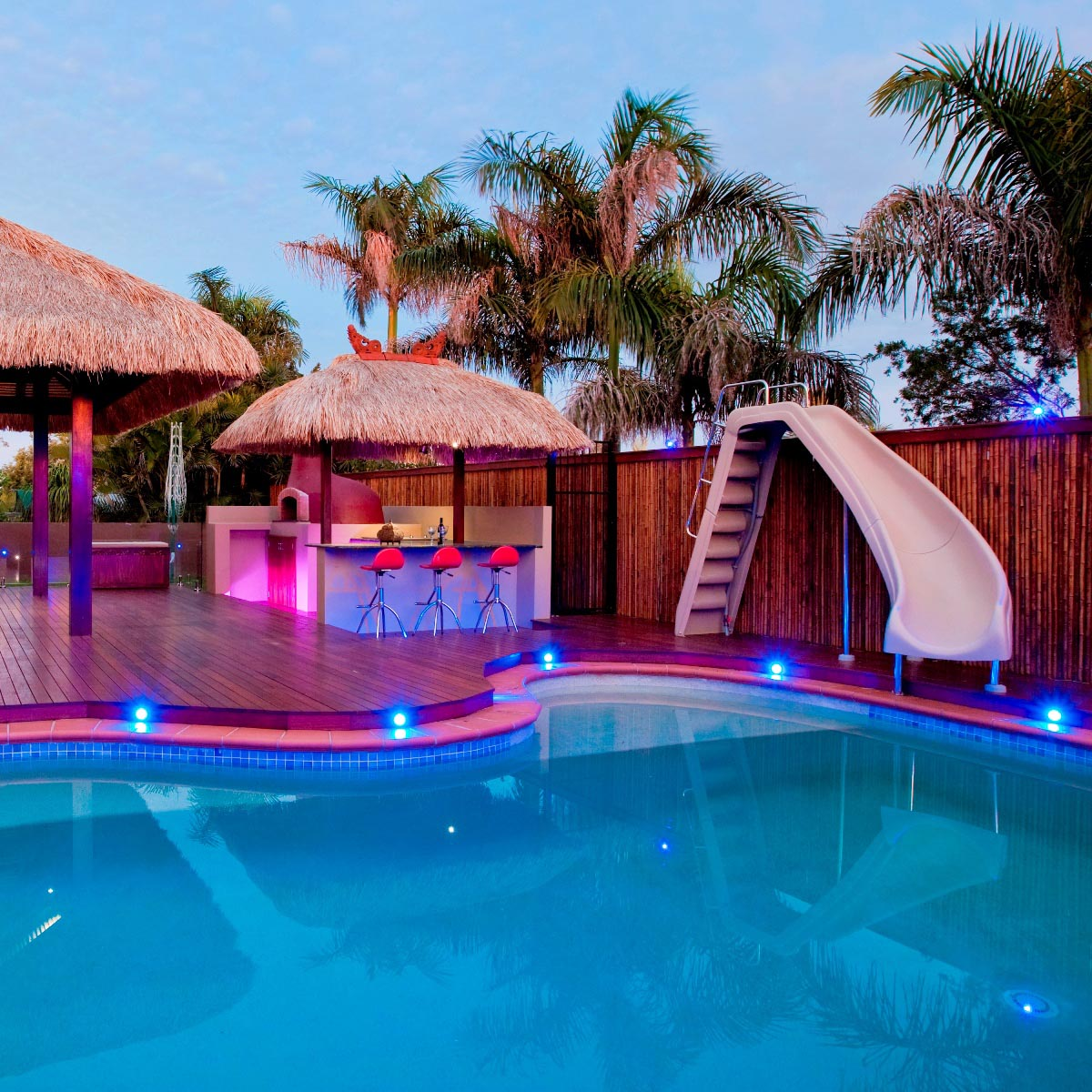 Beauty of a small swimming pool backyard design ideas Swimming pools in liverpool with slides