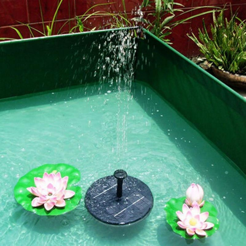 Solar Powered Swimming Pool Fountains